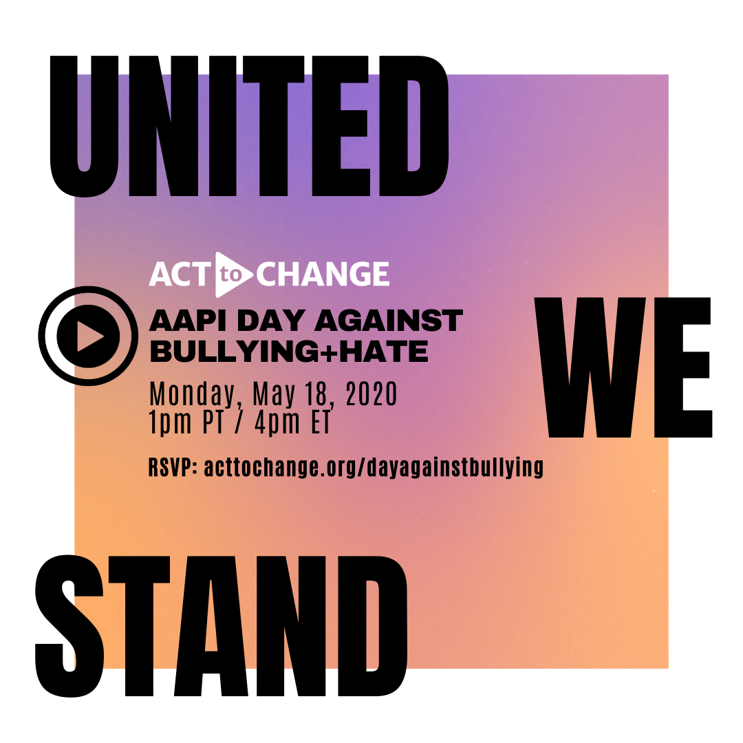 AAPI Day Against Bullying and Hate