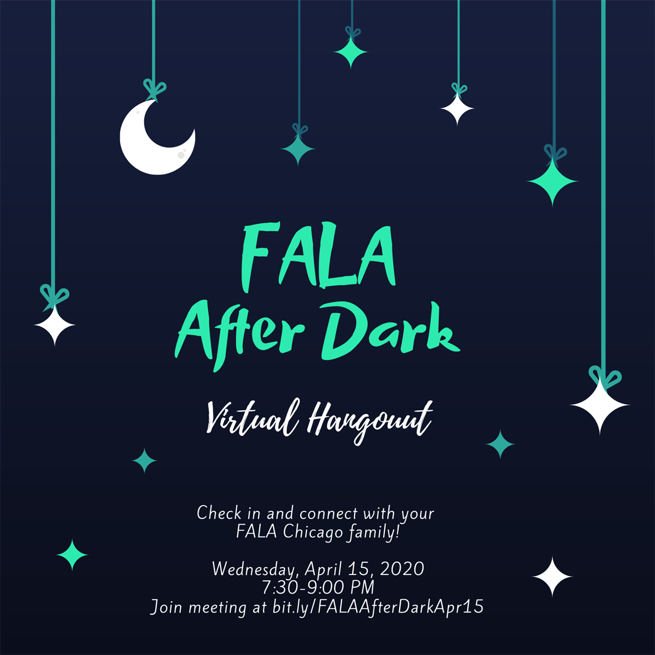 FALA After Dark Virtual Hangout