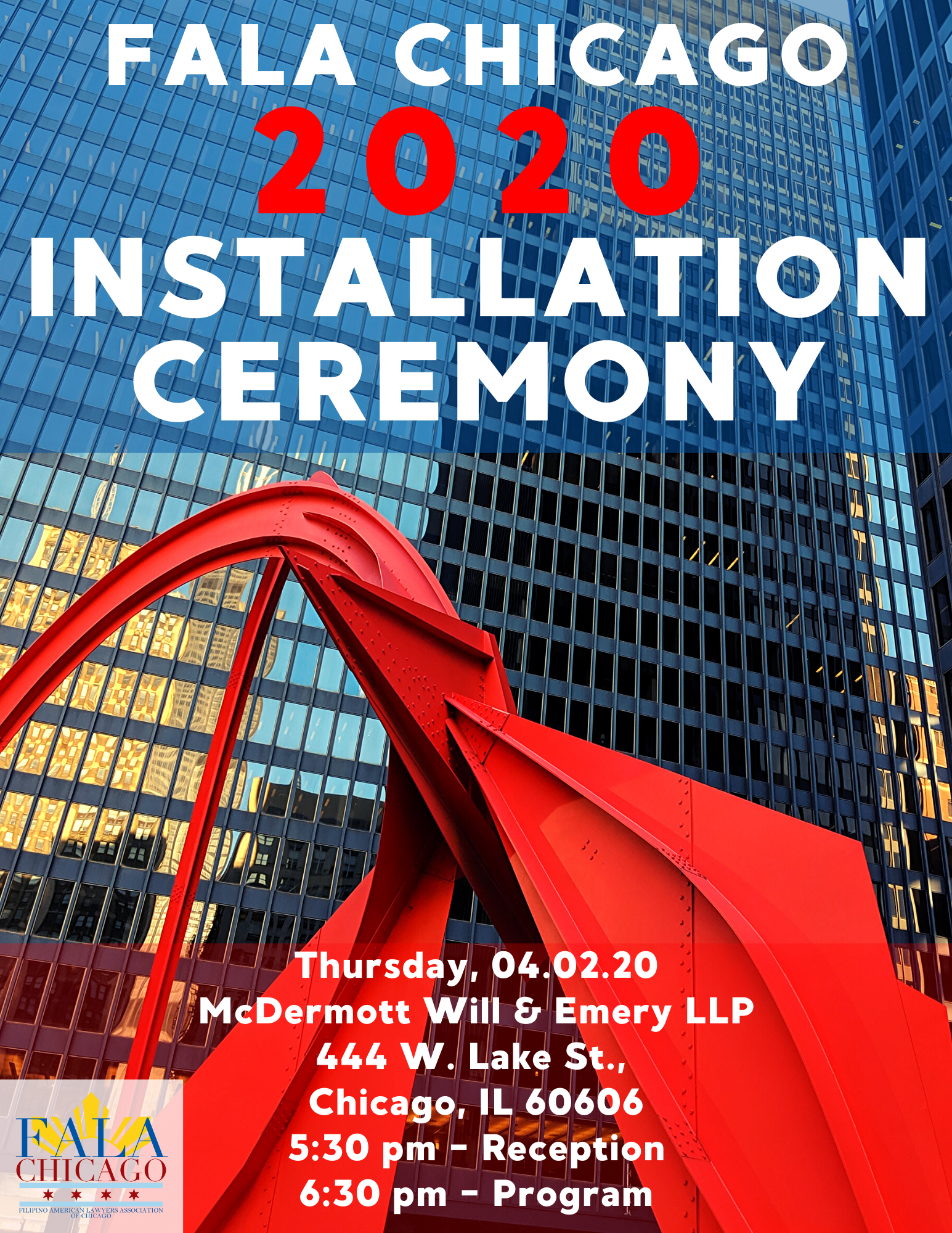 2020 Installation Ceremony
