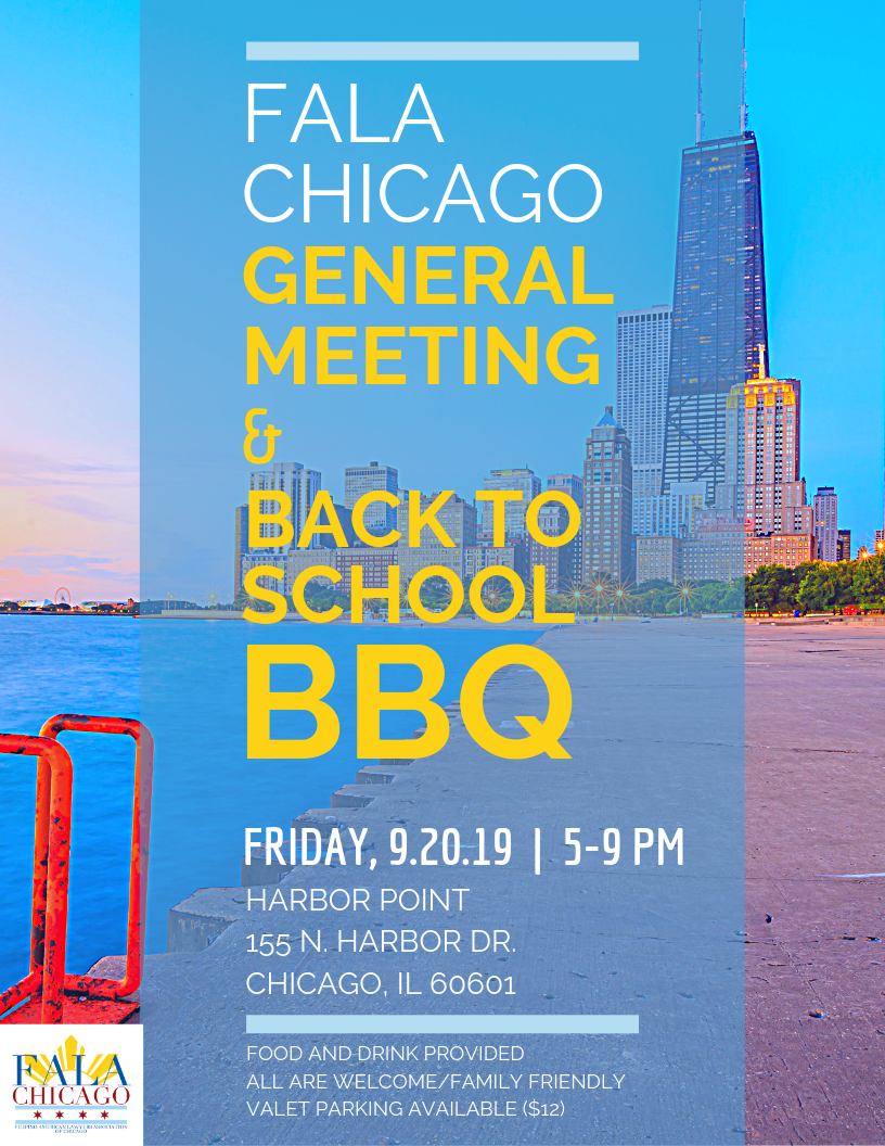 General Meeting & Back to School BBQ