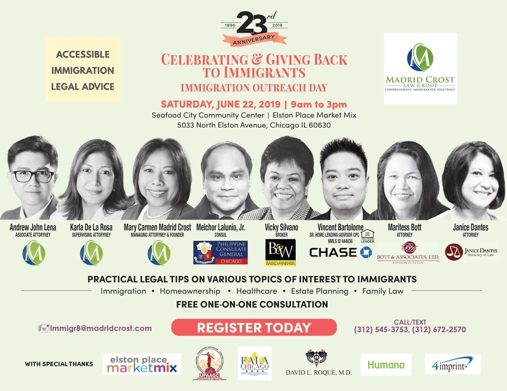 Immigration Outreach Day