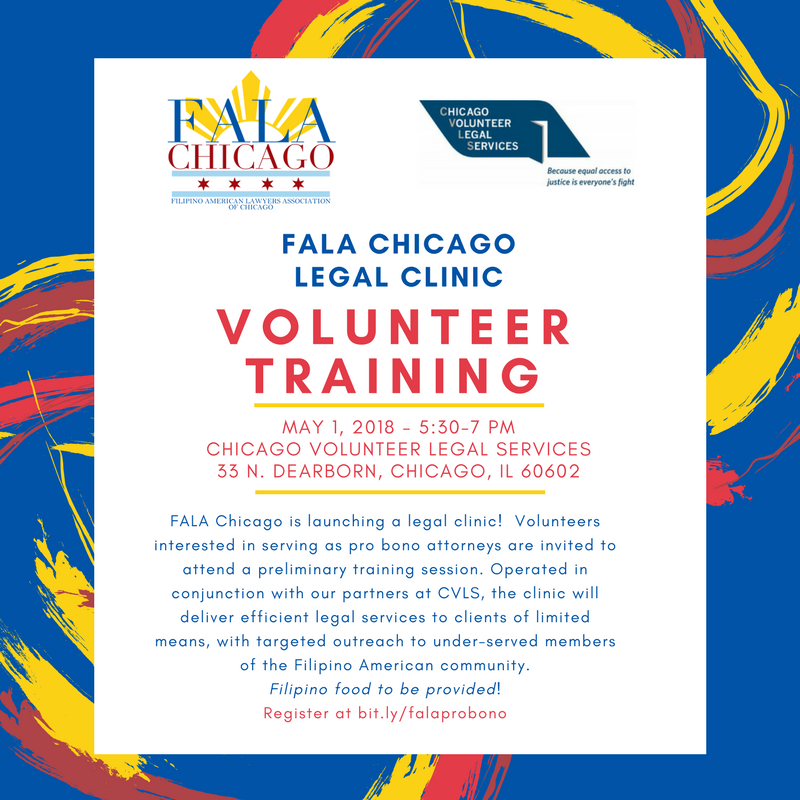 FALA Chicago Legal Clinic Volunteer Training